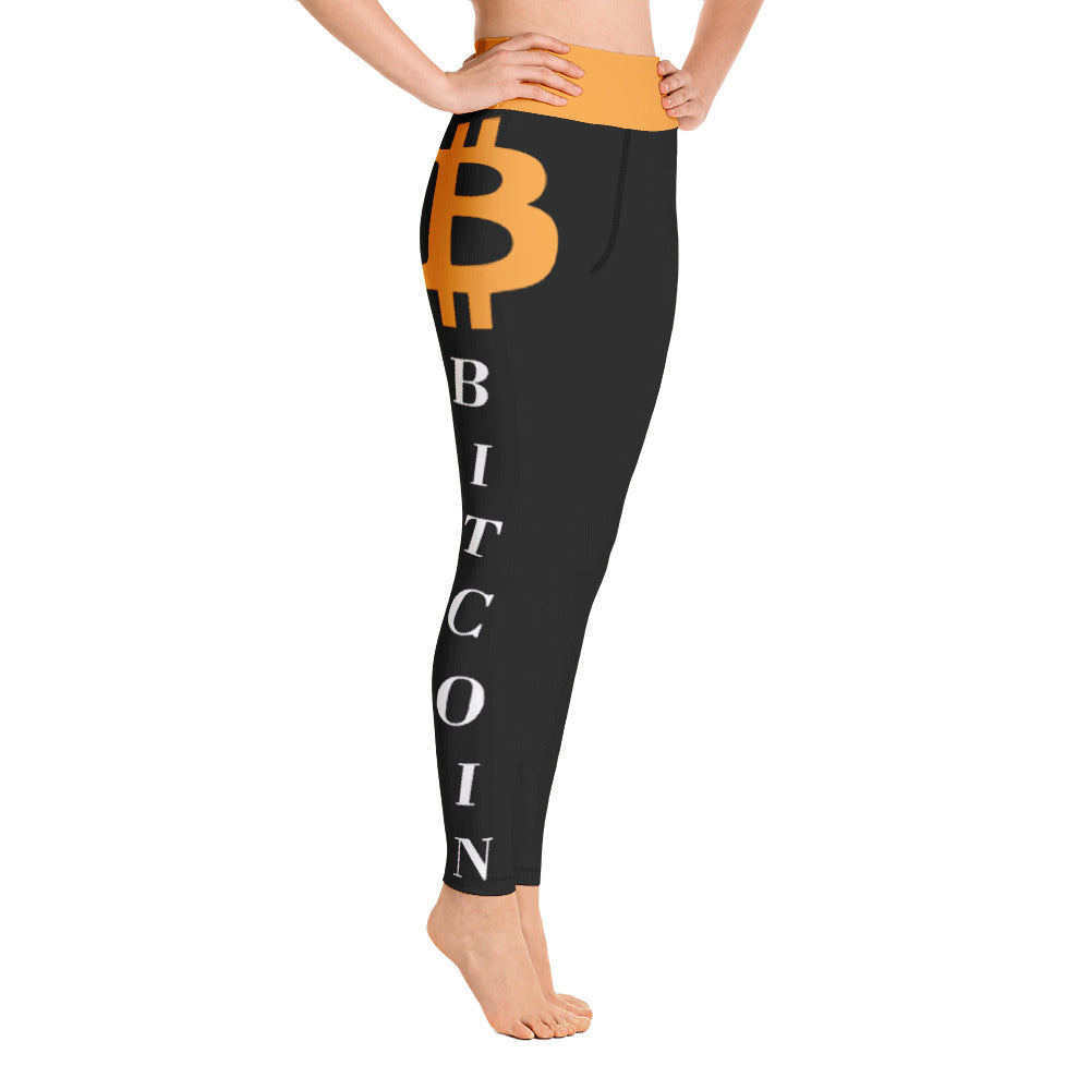 Bitcoin Yoga Leggings