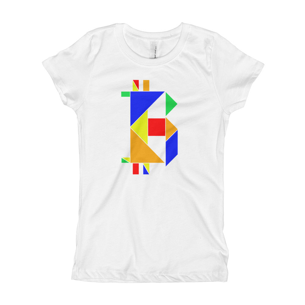 Girl's Bitcoin Tangram