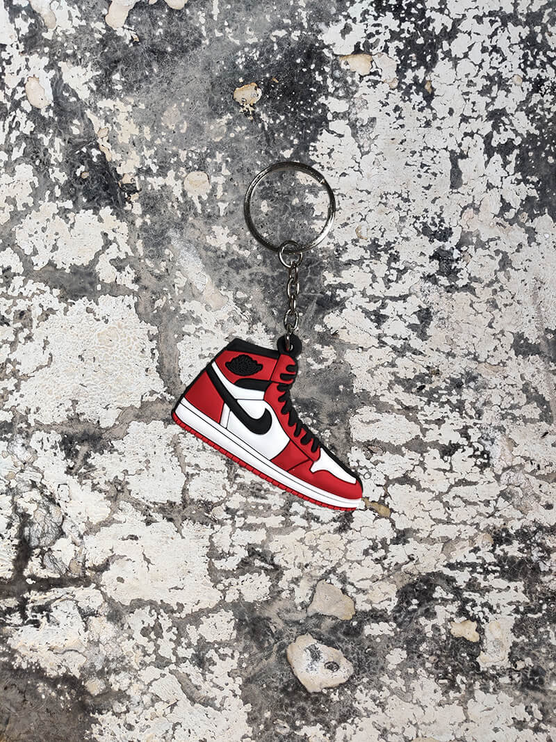 Nike Air Jordan 1 Retro High OG 'Chicago' Keychain-Keychain-Dnasamplez