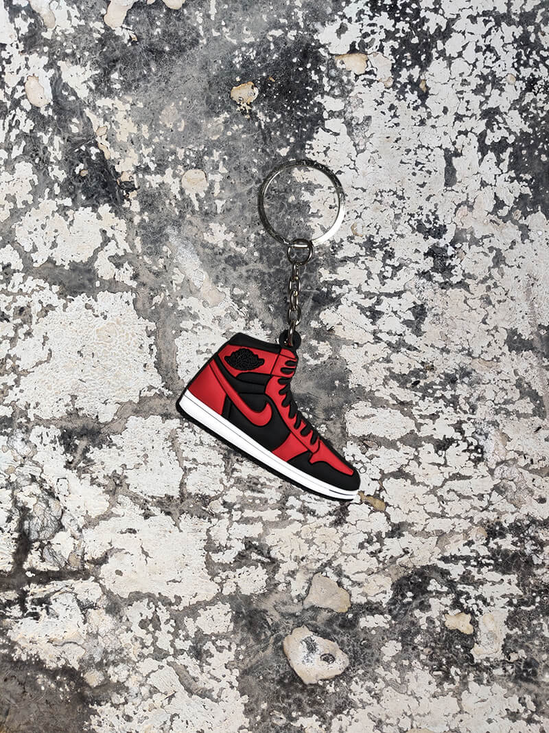 Air Jordan 1 Retro High OG GS 'Banned' Keychain-Keychain-Dnasamplez
