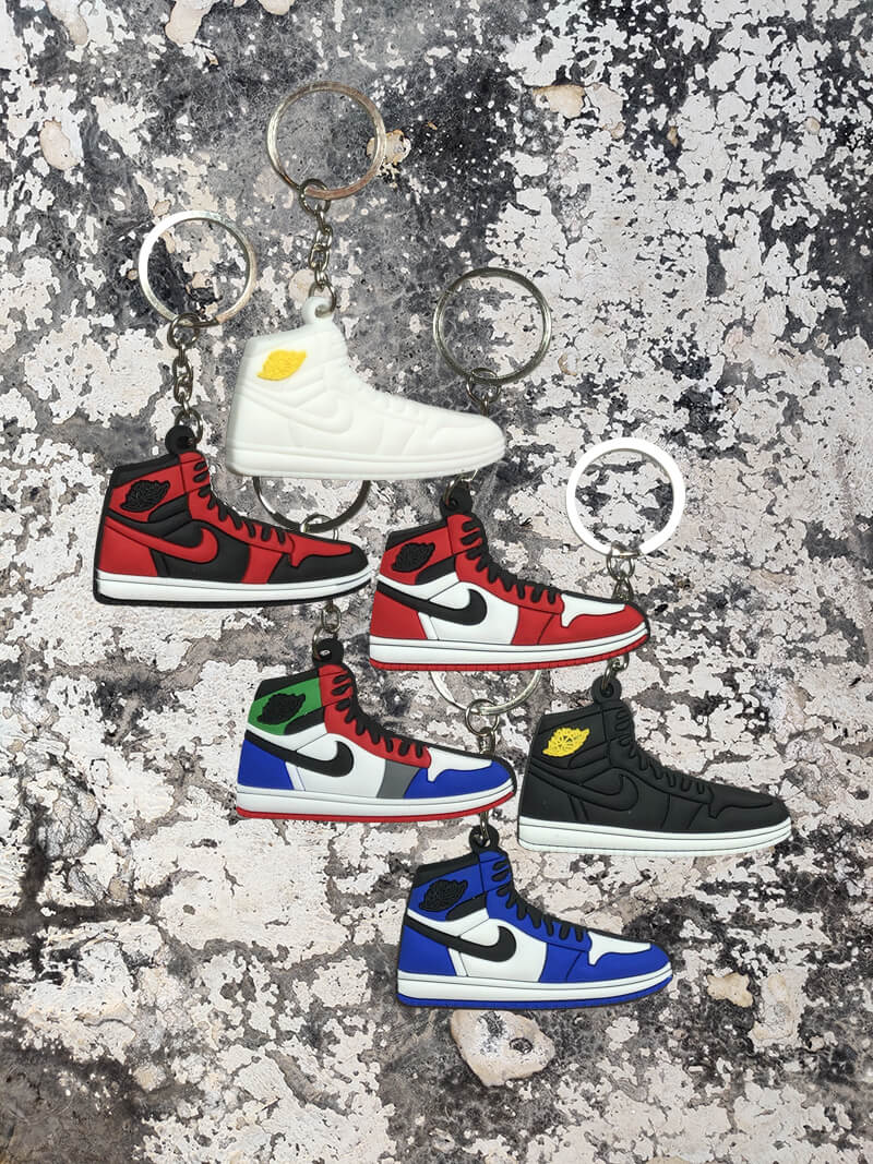 Nike Air Jordan 1 Retro High 6 Pack-Keychain-Dnasamplez