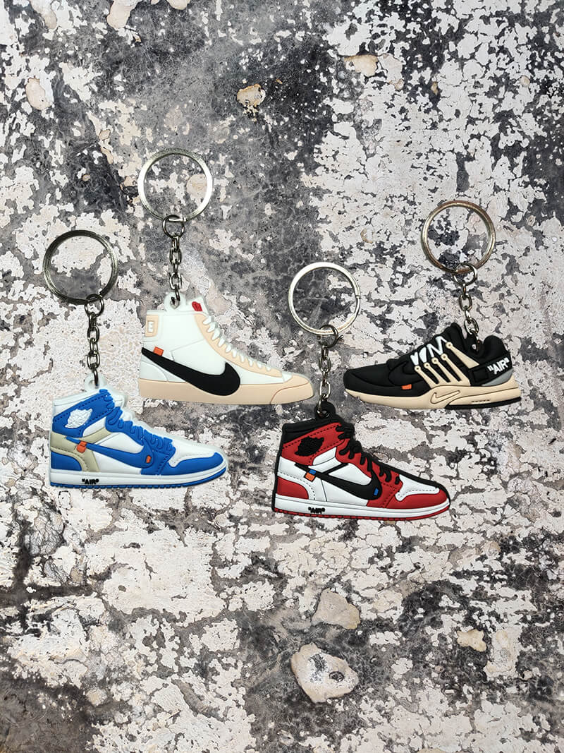 OFF-WHITE x Nike 4 Pack-Keychain-Dnasamplez