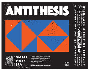 antithesis 500ml wild card brewing company