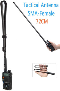 LUITON Antenna | Two-Way Radio Antenna | Foldable/Tactical Raido Antenna for Kenwood Baofeng UV-5R UV82 888S F8HP