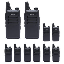 Load image into Gallery viewer, Walkie Talkies | Two Way Radio | Mini Uhf Radio 5-10 Miles Range(Black)