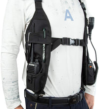Load image into Gallery viewer, LUITON Radio Shoulder Harness | Microphone Speaker |