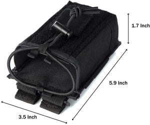 LUITON Walkie Talkie Case | Radio Case | Molle Tactical Radio Holster Military Heavy Duty Radio Pouch