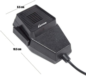 LUITON CB Mic Speaker | Microphone Speaker | Noise Cancelling 4-Pin Mic Speaker Compatiable with PC78LTX Cb Radio