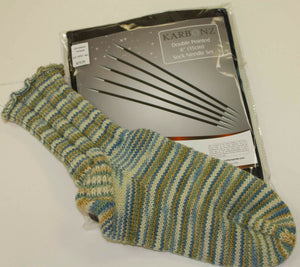 "Knitter's Pride Karbonz Double Pointed 6"" Sock Set"