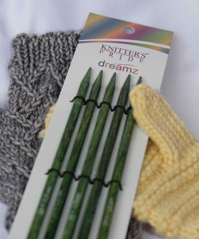 "6"" Knitter's Pride Dreamz Double Pointed Needles"