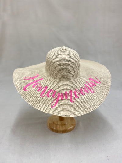 Honeymoonin' Floppy Sun Hat