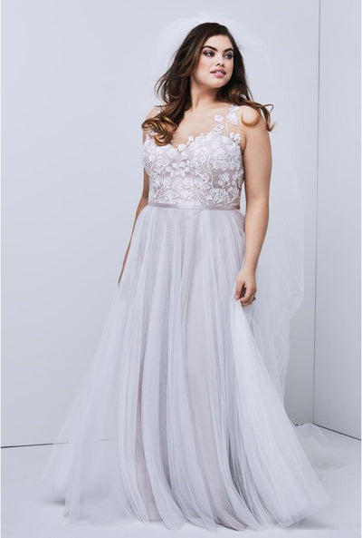 watters Wtoo Juno Plus Size Wedding Dress