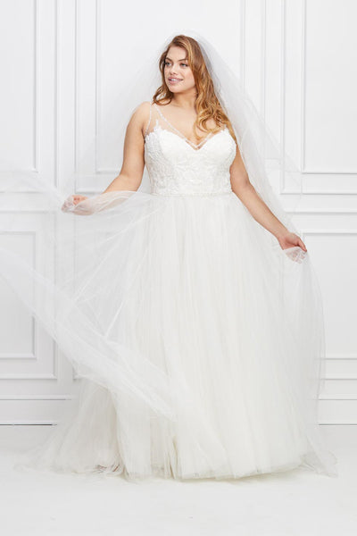 Watters Wtoo Locklin Plus Size Wedding Dress
