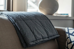 Summer Weighted Blanket for Adults with Anxiety