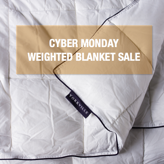 2019 Cyber Monday Weighted Blanket Sale