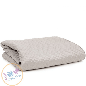 F&F Designer Weighted Honeycomb Blanket