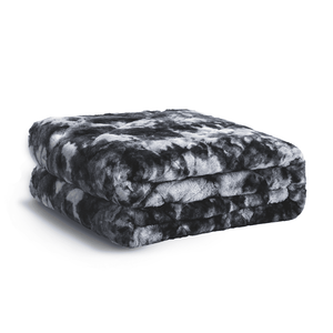 Comma Faux Fur Weighted Blanket