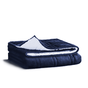 Comma Minky & Sherpa Weighted Blanket
