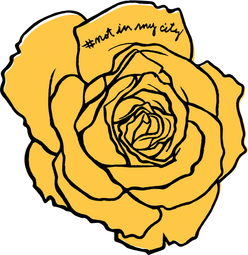 Yellow Rose Decal (5