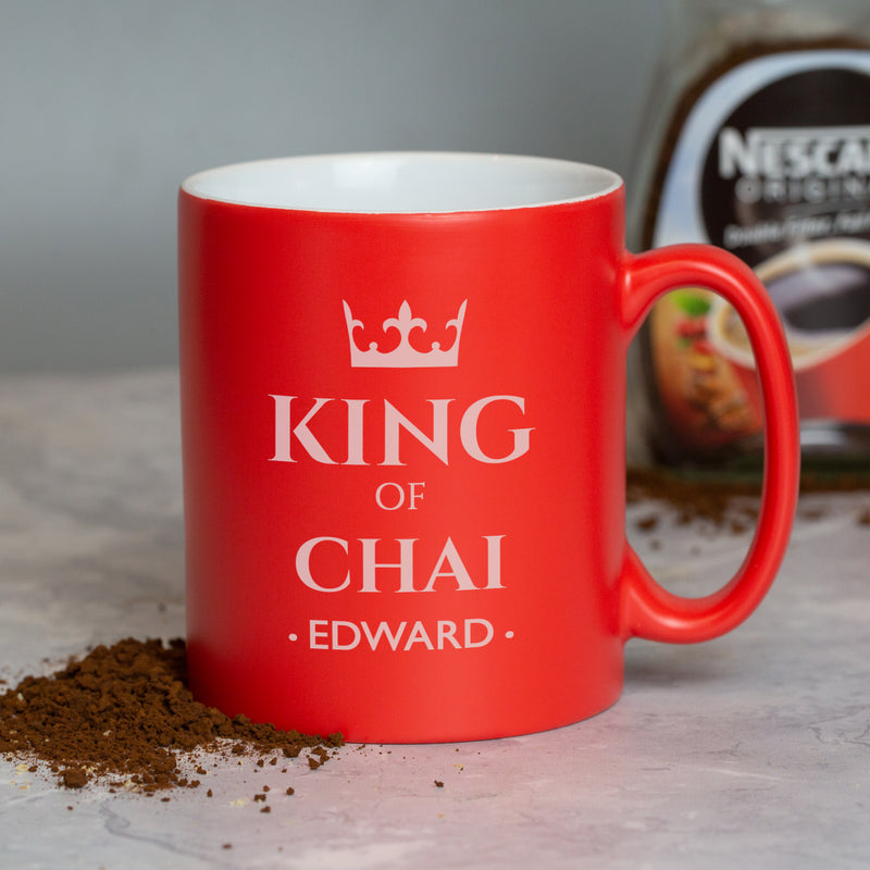 Personalised King Of Red Mug
