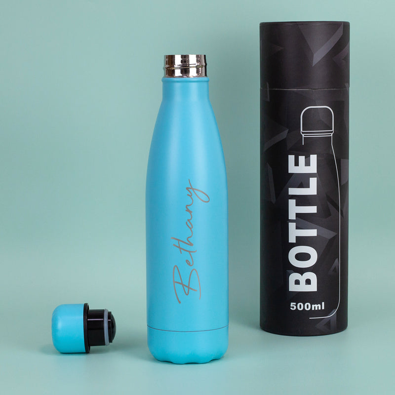 Personalised Large Name Thermos Water Bottle