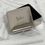 Sister Square Trinket Box