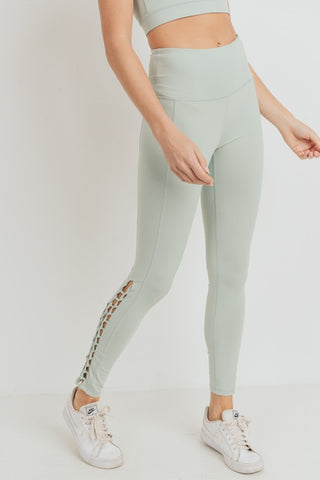 Jade Solid Leggings