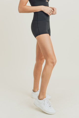 Eco-Friendly Layla High Waist Shorts