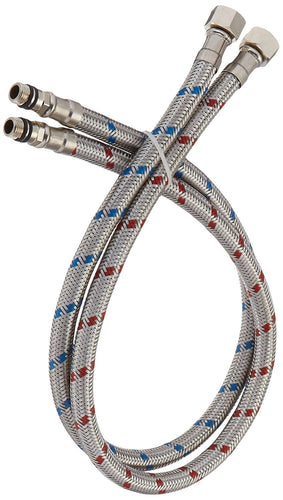 Bathfinesse Flexible Connector Braided Stainless Steel Supply Lines 32
