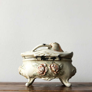 Antique Rose Jewel Box