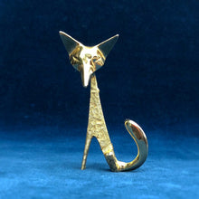 Vintage fox brooch