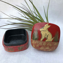 vintage Indian trinket box