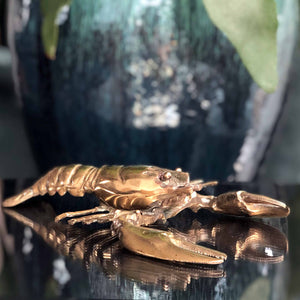 Brass Lobster...or is it a Crawdad?