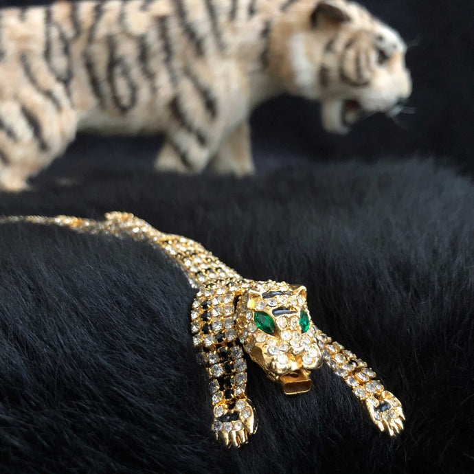 Crystal Tiger Bracelet