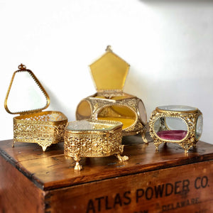 Customizable Vintage Jewelry Boxes
