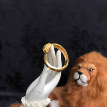 Fine Lion Bracelet - Reserved for Thea