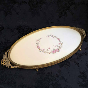 Trailing Roses Vanity Tray