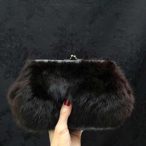 Chestnut Fur Clutch