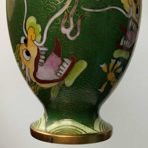Golden Dragon Vase