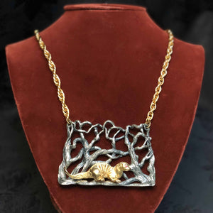 Giant Otter Necklace