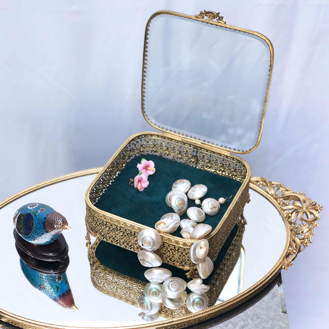 Emerald Garden Jewel Box
