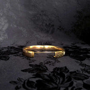 Turn of the Century Flower Bangle