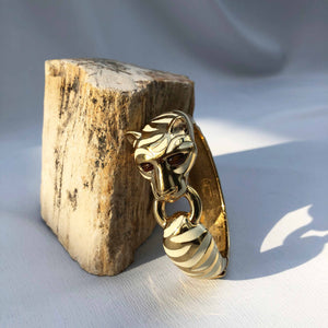 White Tiger Bangle