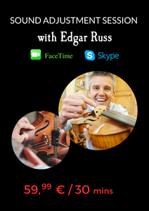 Facetime/Skype Sound Adjustment Session with Edgar Russ