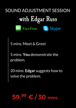 Load image into Gallery viewer, Facetime/Skype Sound Adjustment Session with Edgar Russ