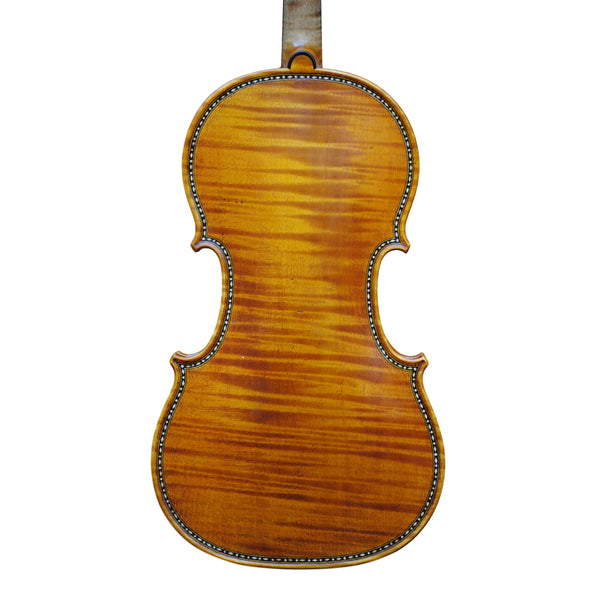 "Violin - Edgar Russ, copy of Antonio Stradivari ""Hellier"" with decoration"