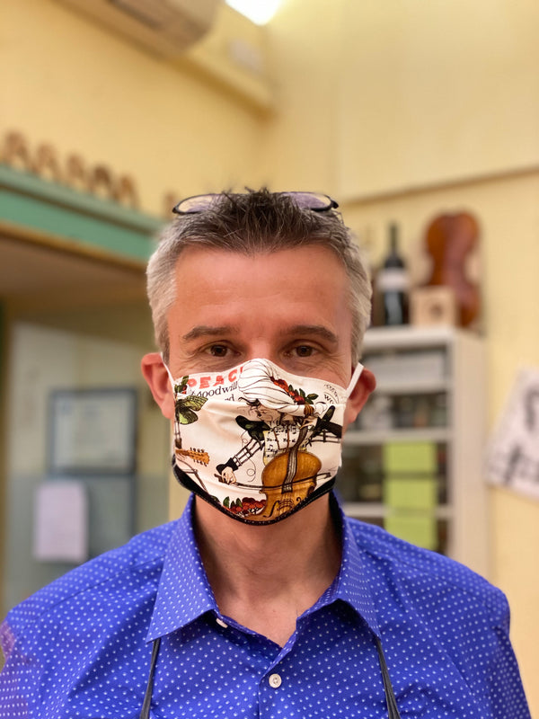 Edgar's Music Mask