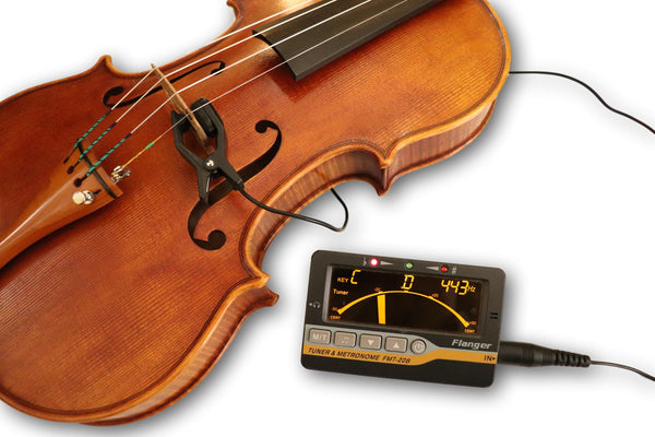 Tuner & Metronome 🎻 with sound Clip