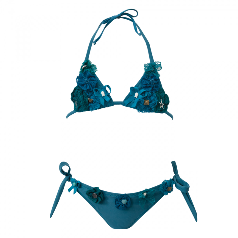 Mini Swimming Suzie Triangle Bikini