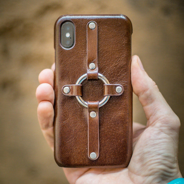 Leather Harness iPhone Case